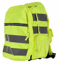 CLICK Standard Hi Viz Hi Visibility Work Cyclist Rucksack Backpack SATURN YELLOW