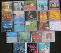 Lot of 22 Relaxation, Intrumentals, Meditation, New Age etc. CDs FREE SHIPPING