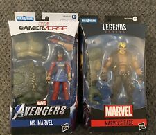 Marvel Legends- Rage & Ms. Marvel (Gamerverse) (Abomination Wave)