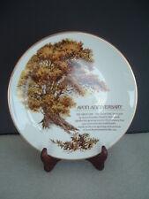 """The Great Oak"" - Avon's Beautiful 5th Anniversary Reward / Collector Plate"