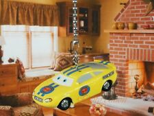 DISNEY CARS Charlie Checker Piston Cup Ceiling Fan Pull Light Lamp Chain Decor