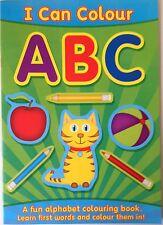 I Can Colour ABC -  a fun alphabet colouring book