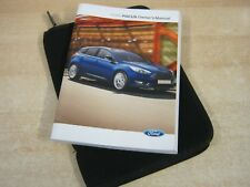 FORD FOCUS  OWNERS MANUAL -OWNERS HANDBOOK 2013-2016 COVERS AUDIO REFM55