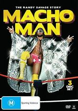The WWE - Macho Man - Randy Savage Story (DVD, 2014, 3-Disc Set) - Region 4