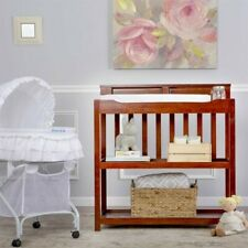 Dream On Me Zoey 3-in-1 Convertible Changing Table in Espresso