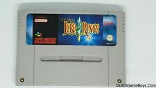 The Lord of the Rings - Super Nintendo - Snes