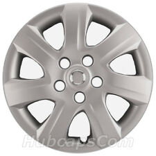 "16"" Silver Hubcaps / Wheel Covers fits Toyota Camry 2010-2011, Heavy Duty"