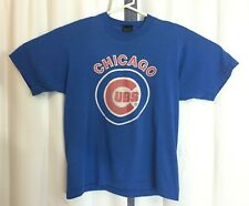 New listing Vintage Authentic Chicago Cubs Screen Stars Best L Large Blue T Shirt