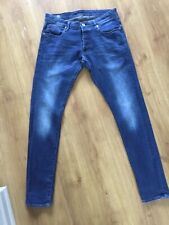 G Star Raw Superslim Jeans 34w 32l BNWT