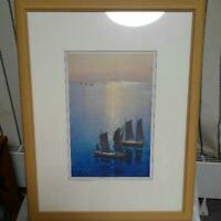 HIROSHI YOSHIDA ART PRINT RARE JAPANESE WALL DECOR COLLECTIBLE F/S JAPAN