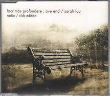 Lacrimas Profundere   CD-SINGLE  AVE END  / SARAH LOU  (c) 2004