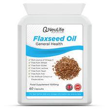 OLIO Flaxseed - 1000mg - 60 capsule rigide