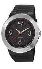 PUMA reloj blast L PLATA NEGRO pu103331001 Análogo plástico negro