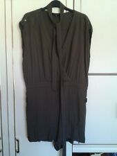 155c585d20 NEW LOOK Playsuit Jumpsuit with Belt   Size 16   100% Viscose   Khaki