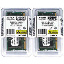 2GB 2 x 1GB DDR 1 Laptop Modules 2100 266 Notebook 200pin 200-pin Memory Ram Lot
