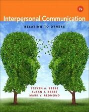 Interpersonal Communication: Relating to Others (7th Edition), Redmond, Mark V.,