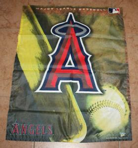 "WinCraft sports vertical flag (27.5"" x 36"") California Angels MLB baseball"