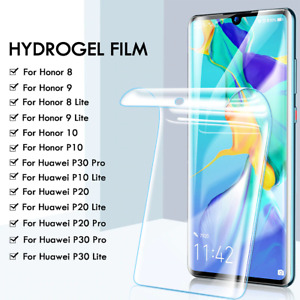 Screen Protector COVER For Huawei P30 40 Pro Mate 20 Pro Lite Hydrogel Film