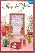 *Thank You Very Much Card*Sentimental Keepsake Card*1St Class Post*N9