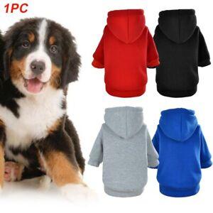 Coats Jacket Cat Puppy Clothes Pet Supplies Sweatshirt Dog Hoodie Autumn Warm