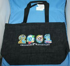 Nice 2001 Disney California Adventure Opening Year Tote Bag New With Tag