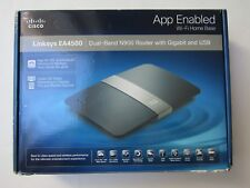 Linksys EA4500 Dual-Band N900 Gigabit Router w/ USB App Enabled Wi-Fi Home Base