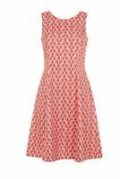 Orla Kiely with People Tree Wallflower Tea Dress - 100% Organic Cotton - 10 BNWT