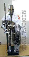 Medieval Knight Crusader Full Suit Of Armour Collectible Armor Costume