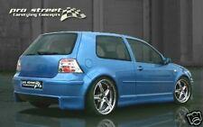 """VW Golf 4 'sf1"""" REAR APRONS-approach Rear Bumper Spoiler Rear approach"""