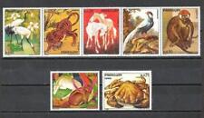 Animaux Faune sauvage Paraguay (82) série complète 7 timbres neufs** 1er choix