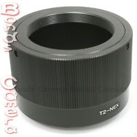 T2 T-2 telephoto Lens To Sony E Mount NEX Adapter A7 A7R NEX-5T 6 7 A6000 A5000