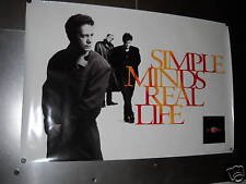 SIMPLE MINDS 1991 Large Rare Personality Promo Poster mint condition