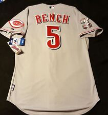 MAJESTIC AUTHENTIC JERSEY ALL SIZES CINCINNATI REDS COOL BASE JOHNNY BENCH 6300
