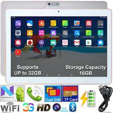 10.1'' Inch Android 7.0 Tablet PC Quad Core Dual SIM 3G WIFI Unlocked 16GB ROM
