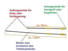 Lanze 60cm regelbar Motorsprüher Motorspritze Sprüher Düse