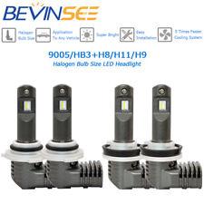 For Toyota Highlander 2011-2017 2018 LED 9005 H11 Combo Headlight 4x 6500K Bulbs
