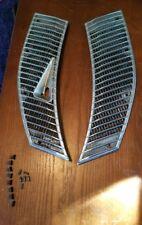 MERCEDES W123 CHROME COWL VENT GRILL TRIM COVER OEM 1238360165 1238360265
