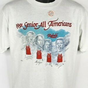 UNLV Runnin Rebels T Shirt Vintage 90s Senior All Americans Made In USA Large