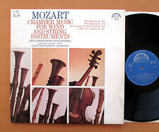 Mozart Chamber Music For Wind & String Instruments 2xLP Supraphon 1 11 1671/2