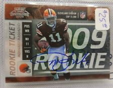 2009 Panini Contenders Playoff Rookie Ticket Auto Mohamed Massaquoi RC SP BV $25