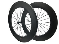 88mm Carbon Road Bicycle Bike Wheels/Wheelset Powerway R13 Tubular Wheels 20.5mm