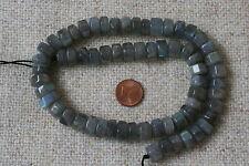 Labradorit-Strang(Rondell,Sechskant) Q-5645/G