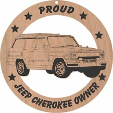 Jeep Grand Cherokee Wood Ornament Engraved