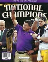 LINDY'S SPORTS PRESENTS NATIONAL CHAMPIONS 2019 LSU TIGERS