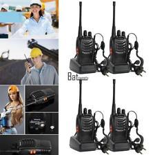 #Profi-4x-Baofeng-BF-888s-Walkie-Talkie-400-470-MHz-UHF-wege-Radio-Handfunkgerät