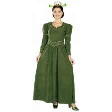 Deluxe Princess Fiona Ogre Costume Shrek Halloween Fancy Dress