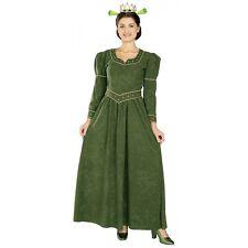 Deluxe Princess Fiona Ogre Costume Shrek Halloween Fancy Dress