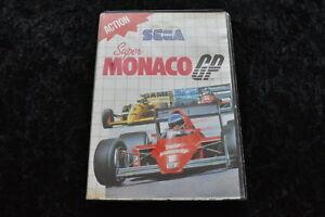 Super Monaco GP Geen Manual Sega Master System