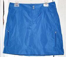 RALPH LAUREN Size 8 Blue SKORT SKIRT Water Resistant NWT Casual