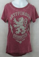 Harry Potter Gryffindor Juniors Distressed T-Shirt Size XS Officially Licensed